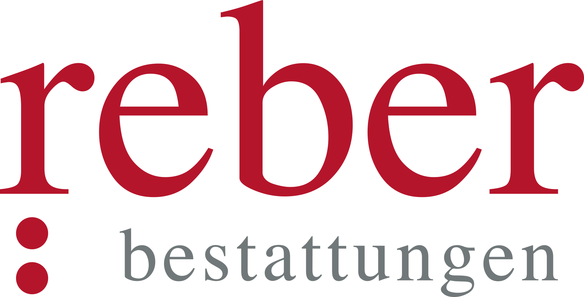 REBER Bestattungen – Logo