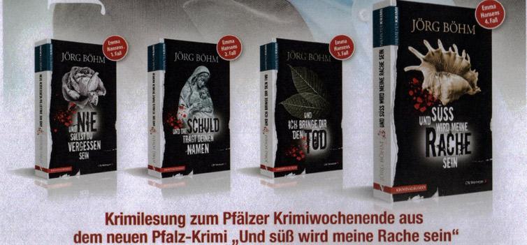 Krimilesung Jörg Böhm