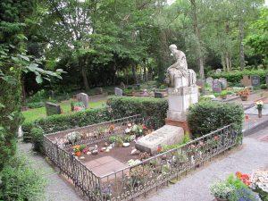 Gemeinschaftsgrab des Krematorium Landau