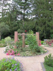 Urnengemeinschaftsgrab Insel der Rosen