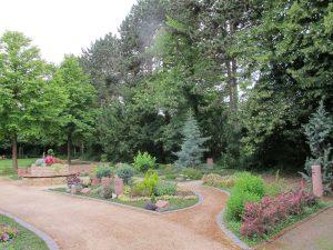 Memoriam-Garten Partnergräber